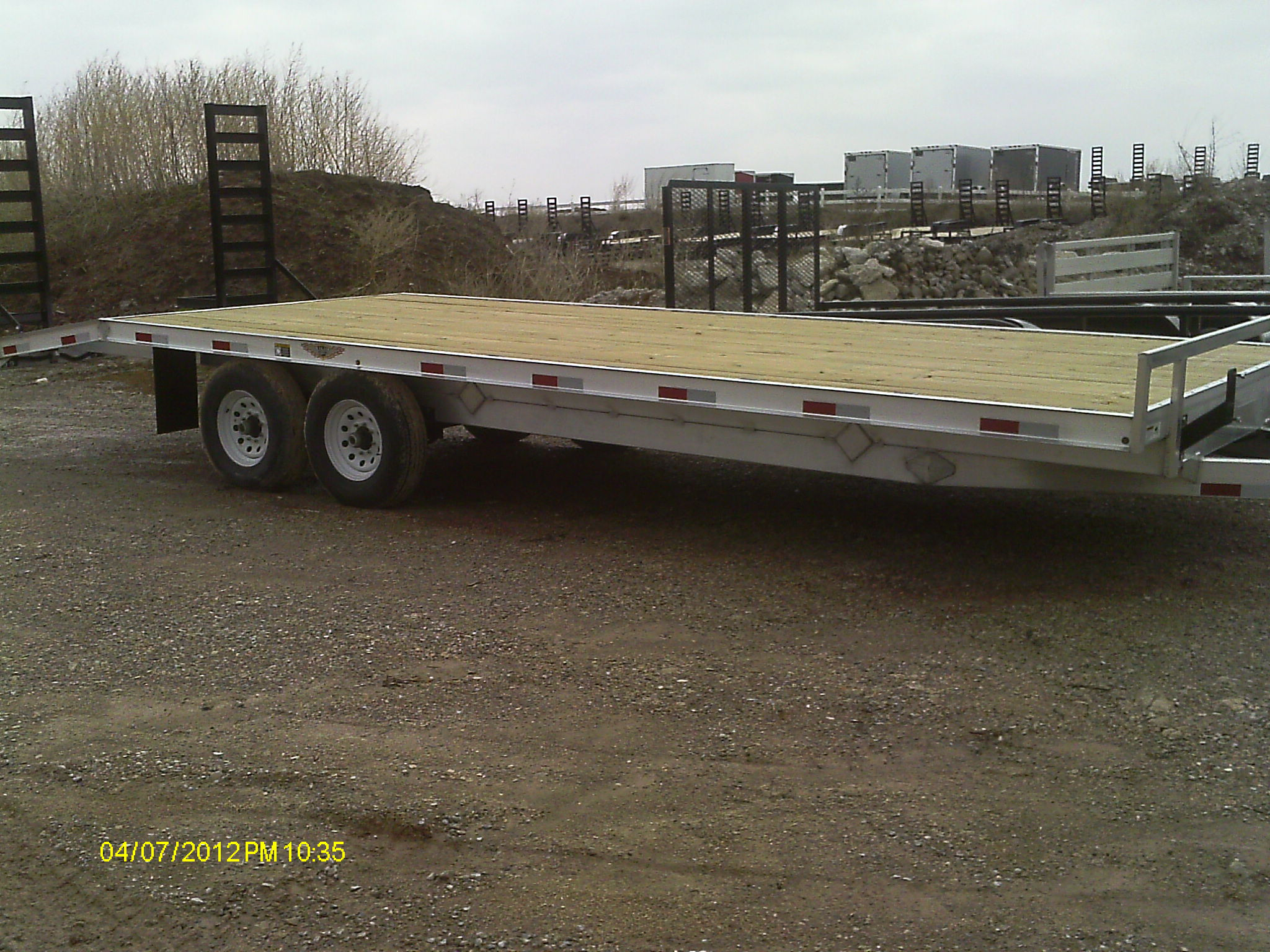 Used Deckover Bumper Pull Trailer For Sale Autos Post
