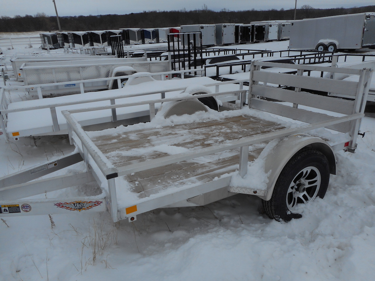 Badger Trailer And Power Single Axle Utility Trailers