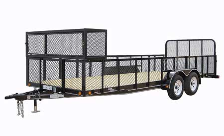 Badger Trailer And Power Snowmobile Trailers Autos Post