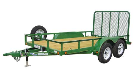 Badger Trailer and Power: Tandem Axle Utility Trailers